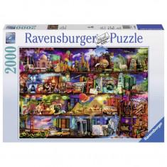 Puzzle Lumea cartilor, 2000 piese Ravensburger