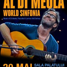 Bilet la concertul Al Di Meola din Bucuresti pe 20 mai 2017 - Bilet concert