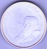 Moneda medalion Meissen, Thaler Nikolaus Kopernikus 1993 cu cutie originala, Europa