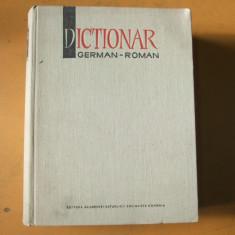 Dictionar german - roman Bucuresti 1966 140 000 cuvinte M. Izbasescu