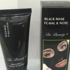 Black Mask masca neagra purificatoare anti pori puncte negre fata pilaten - Masca fata