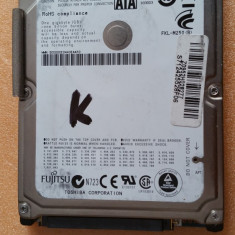"41.HDD Laptop 2.5"" SATA 250 GB Fujitsu 5400 RPM 8 MB, 500-999 GB, Western Digital"