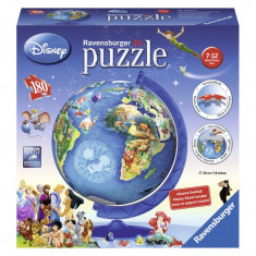 Puzzle Globul Disney, 180 piese Ravensburger