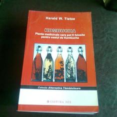 KOMBUCHA PLANTE MEDICINALE CARE POT FI FOLOSITE PENTRU CEAIUL DE KOMBUCHA - HERALD W. TIETZE - Carte Medicina alternativa