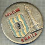 "ZET 32 MEDALIE (PLACHETA)VECHE - ,,BOX CLUB BRAILA"""