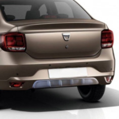 Difuzor bara texturat simplu universal, culoare GRI - Difuzor bara spate auto