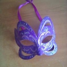 Masca de carnaval - Masca carnaval, Marime: Marime universala, Culoare: Violet
