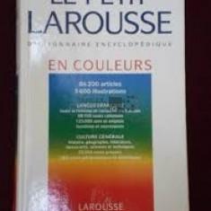 Larousse en couleurs 1993 - Dictionar ilustrat