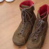 Bocanci sport inalti cu fermoar - LEVIS high top boots, nr 35.5-36 - Incaltaminte outdoor