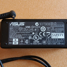 45.Incarcator Laptop 19V 2.1A 40W Asus EEE PC Mufa Subtire + Cablu Alimentare