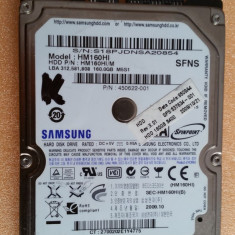"34.HDD Laptop 2.5"" SATA 160 GB Samsung 5400 RPM 8 MB, 500-999 GB, Western Digital"