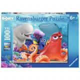 Puzzle In cautarea lui Dory, 100 piese Ravensburger