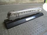 Macheta tren Ganz Budapest, din bronz cromat, model trenulet 23 centimetri, Z, Locomotive
