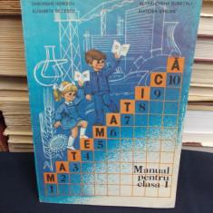 VASILE MOTRESCU / GHEORGHE HERESCU - MATEMATICA * MANUAL PENTRU CLASA I  - 1985