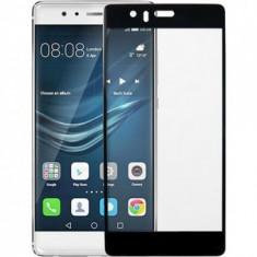 Folie protectie sticla securizata 3D ecran Huawei P9 Lite BLACK - Folie de protectie
