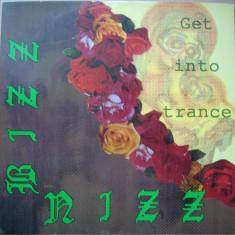 Bizz Nizz - Get Into Trance 1990 disc vinil Maxi Single Euro House - Muzica House