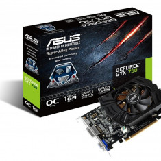 Placa video ASUS NVIDIA GTX750-PHOC-1GD5, GTX750, PCI-E, 1024MB GDDR5, 128 bit, GPU Boost Clock : 1137 MHz, 1253 MHz, 2*DVI, HDMI, FAN bulk - Placa video PC Asus, PCI Express, 1 GB
