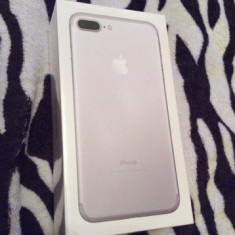 IPhone 7 Plus Nou Sigilat La Cutie - Telefon iPhone Apple, Argintiu, 128GB, Neblocat