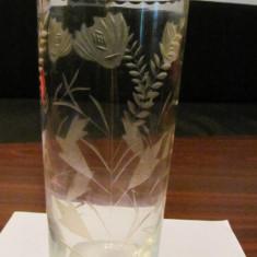 PVM - Vaza mai veche sticla frumoasa - Vaza sticla