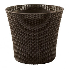 Ghiveci Conic Planter Whiskey Brown Curver 7290106933743