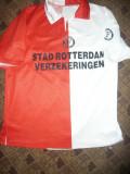 Tricou al Echipei de Fotbal Feyenoord Rotterdam , Jucatorul Tomasson nr.10 ,XL, Alb