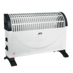 Radiator electric MD MHT-6608, 1500 W, trei trepte de incalzire, Alb, 01709