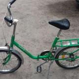 Bicicleta pliabila, 14 inch, Numar viteze: 1
