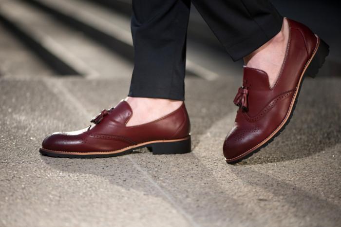 Pantofi din piele Oxford Loafer COD: PLC-1 - New Collection!