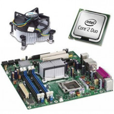 Placi de baza sh Intel DQ965GF, Intel Core 2 Duo E7200, Cooler - Placa de Baza
