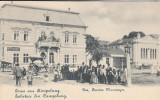 SALUTARE  DIN  CAMPULUNG MOLDOVENESC PENSION NEUMAYER HOTEL  CAFENEA SINAGOGA, Necirculata, Printata