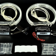 Kit Complet  Inele Angel Eyes CCFL BMW Seria 3  E46 -FAR FARA LUPA  AL- TCT-2828