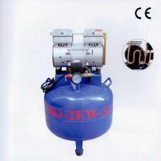 Compresor fara ulei 850W, 38L uscat, silentios, 1 motor