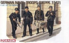 + Kit de figurine 1/35 - Dragon 6087 - German Naval Troops Dieppe 1942 + foto