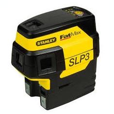 Set nivela laser cu 3 puncte FatMax SLP3 si trepied STANLEY - Nivela laser rotativa