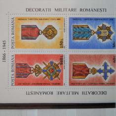 1994 DECORATII MILITARE ROMANESTI - Timbre Romania, Nestampilat