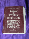 Dictionar de istoria romanilor - Georgeta Smeu 1997 (f0391