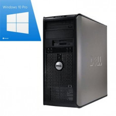 Calculator Refurbished Dell Optiplex 755 Mt, E8400, Win 10 Pro - Sisteme desktop fara monitor Dell, Windows 10