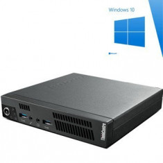 PC Refurbished ThinkCentre M92P USFF, i5-3470T, Windows 10 Home - Sisteme desktop fara monitor Ibm