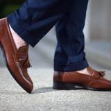 Pantofi Spring Loafer COD: LFR-1. Disponibili pe negru sau maro. NEW COLLECTION! - Pantofi barbat, Marime: 39, 40, 41, 42, 43, 44, Piele naturala