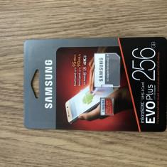 Samsung micro SDXC EVO PLUS 256GB Nou Sigilat - Card memorie Samsung, 128 GB