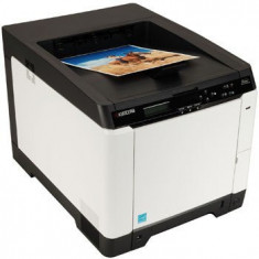 Imprimanta second hand color Kyocera FS-C5150DN fara cartuse - Imprimanta laser color