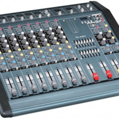 Mixer audio profesional 1300W cu efect voce Practic HomeWork