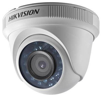 Camera de supraveghere Hikvision DS-2CE56C0T-IRP, Turbo HD 720p, 2.8 mm, 1MP CMOS,zi/ noapte foto mare