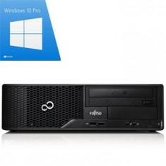 PC Refurbished Fujitsu ESPRIMO E500, I3-2100, Windows 10 Pro - Sisteme desktop fara monitor Siemens