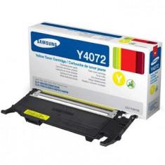 Cartus toner nou original Samsung CLT-Y4072S Yellow - Cartus imprimanta