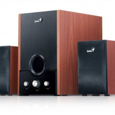 Boxe 2.1 Genius SW-HF2.1 1700, 45W RMS, Wood - Boxe PC