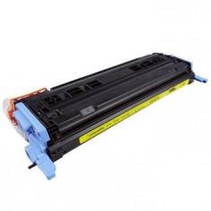 Cartus toner nou Q6002A Yellow compatibil HP LJ 1600/2600 - Cartus imprimanta