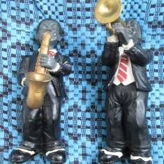 2 Statuete JAZZ - STARE IMPECABILA - PERFECTE PETRU UN CADOU! - Figurina/statueta