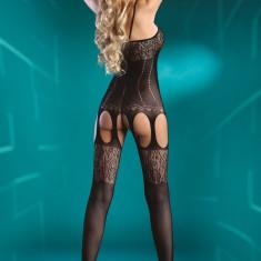 Lenjerie Sexy Amani LivCo - Lenjerie sexy dama, Culoare: Negru, Marime: Marime universala