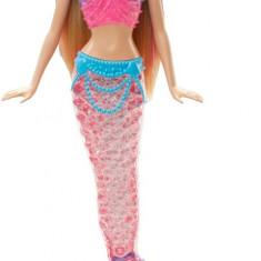 Papusa Barbie Rainbow Light Mermaid - OKAZIE, Plastic, Fata